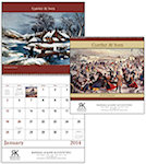 Currier and Ives Spiral Wall Calendars